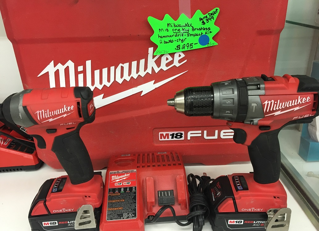 Milwaukee M18 OneKey Brushless Hammer Drill & Impact Kit