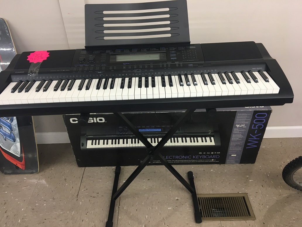Casio wk-500 Electric Keyboard